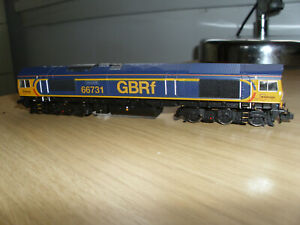 Boxed Dapol ND-074A class 66 diesel loco GBRF First Group No 66723 low emissions