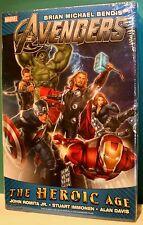 The Avengers The Heroic Age HC Bendis, Romita Huge Hardcover MINT SEALED