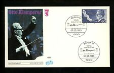 Postal History FDC #9N502 Germany Music Related Otto Klemperer conductor 1985