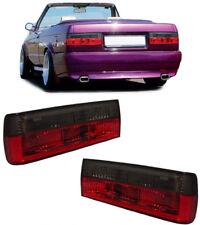 Klarglas Rückleuchten rot schwarz für BMW 3ER E30