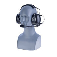 Impact HYT3-PDM-2 (w/WPTT Cable) Dual Muff Headset for HYT Hytera HDP Momentum