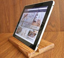 Soporte de madera de la tableta/Pantalla/Bandeja para iPad 2/3/4/Air/Mini/Kindle/Samsung hecho a mano