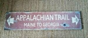 Appalachian Trail Maine To Georgia Sign