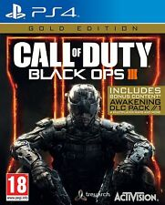 Call of Duty Black Ops III GOLD Edition (PS4) Brand New & Sealed UK PAL