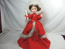 "VTG TELCO MOTION-ETTE LIGHTED ANIMATED CHRISTMAS  24"" DOLL"
