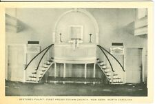 New Bern NC The Restored Pulpit First Presbyterian Church