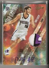 Omri Casspi 09/10 Absolute Star Gazing Auto Patch RC Rookie #18 Serial #3/5