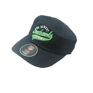 Seattle Seahawks Official NFL Apparel Baby Infant OSFM Flexible Hat Cap New