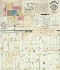 Britton, South Dakota~Sanborn Map© sheets~ wth 26 maps~ on a Cd in full color
