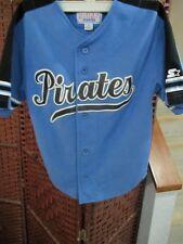 Starter Pittsburgh Pirates Baseball Jersey Youth Small Blue MLB Child
