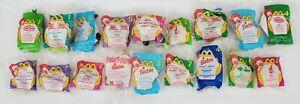 Vintage McDonalds Toys Lot of 18 Disney Winnie Barbie Ronald Mulan Bugs Life