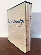 Claude Monet en mer du Nord - Coffert 3 volumes - Hazan