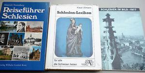 3 x Schlesien - Reiseführer Kalender Lexikon 1977-87 Glogau Glatz Breslau Neisse