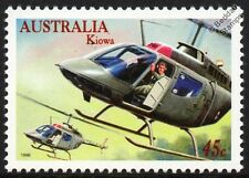 BELL OH-58 KIOWA Military Helicopter RAAF Aircraft Stamp