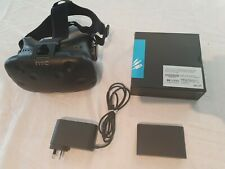 HTC Vive Virtual Reality VR - Headset Only - Includes Link Box & NEW 3-1 Cable!