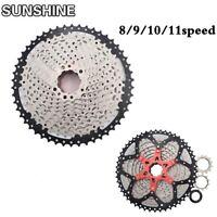 SUNSHINE 8/9/10/11 Speed MTB Bike Cassette 10S Freewheel Cogs Fit Shimano SRAM