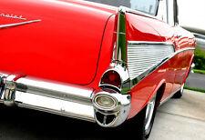 CHEVY 1957 CHEVROLET Costruzione Vintage 25 AUTO 1 24 ROSSA BELAIR 12 modello