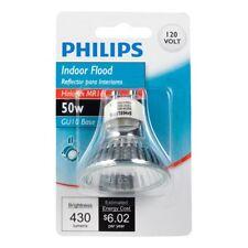 Philips 415745 Indoor Flood 50-Watt MR16 GU10 Base Light Bulb