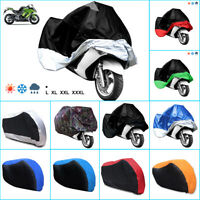 Bike Motorcycle waterproof Scooter Dust Rain Cover + storage bag NEW LARGE-XXXL