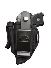 Belt & Clip holster With Magazine Pouch For Raven 25 Titan Excam Targa