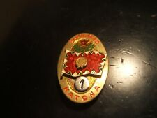 "Hungary ""Leading Soldier First Class"" Badge 1940'S Super Colorful"