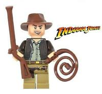 Indiana Jones Minifigure Figure Custom Minifig 153