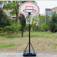 PROFESSIONAL LARGE SIZE PORTABLE ADJUSTABLE BASKETBALL STAND NET HOOP BACKBOARD