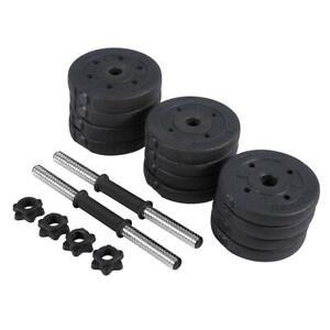 20/30kg Hantel Set Kurzhantel Hanteln Gewichte Hantelscheiben Barbell Training
