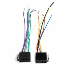 Female ISO Wiring Harness Car Radio System Adaptor Connector Wire Plug B