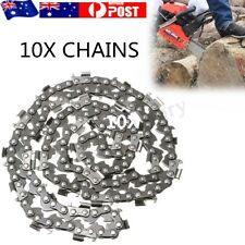 10Pcs 20'' Saw Chain Chainsaw Mill Ripping 76 Link Fits For Timberpro 62CC 0.325