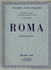 Roma Parte Seconda Touring Club Italiano 1942