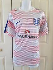 Nike Men's England Flash Pre Match Top II Jersey White/Royal