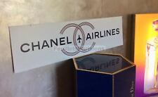 AUTHENTIC CHANEL AIRLINES AIRPORT DISPLAY FROM SPRING SHOW 2016 LAGERFELD RARE