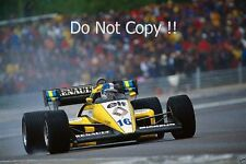 Derek Warwick Renault RE50 French Grand Prix 1984 Photograph