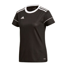 Adidas Squadra 17 Camiseta Manga Corta Mujer Negro