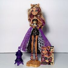 Monster High 13 Wishes Clawdeen Wolf Doll Mattel 2012