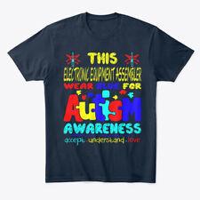 Electronic Equipment Assembler Autism Premium Tee T-Shirt