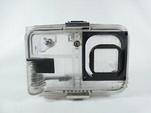 Vintage Ikelite Underwater Camera Housing Clear Plastic INDPLS Waterproof Case