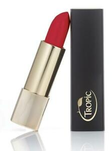 Tropic Skincare Lipstick Poppy Vegan Cruelty Free Full Size Make-up Brand New