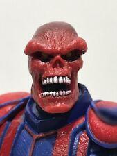 """TOYBIZ Marvel Legends RED SKULL variant 6"""" FACE OFF figure Captain America 2006"""