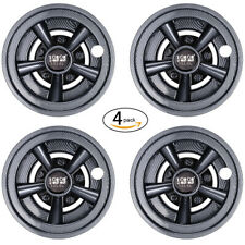 "(4) Carbon Fiber Golf Cart Wheel Covers Hub Caps 8""  for Yamaha/Club CAR/EZGO US"