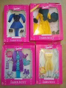 Barbie Fashion Avenue Bundle, Boutique City Coat Collection & Party