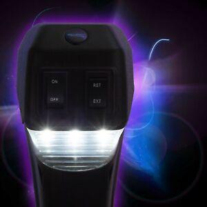 RV Electric Tongue Jack 3500 Lb Capacity Black Camper (Trailer) Power Jack