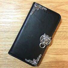 Final Fantasy 7 Cloudy Wolf Wallet Leather Handmade Case For Samsung Cell Phone
