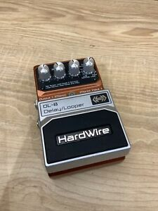 Digitech Hardwire DL-8 Stereo Delay Looper Guitar FX Pedal