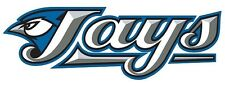 12 STICKERS Toronto Blue Jays Baseball Vinyl Car Bumper Window laptop wall Decal