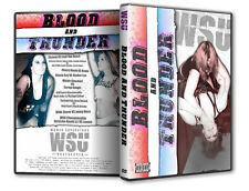 WSU Womens Wrestling - Blood and Thunder DVD, Neveah Veda Scott Kimber Lee