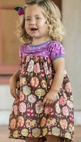 Matilda Jane Through The Trees Dress Size 18-24 Months With Diaper Cover