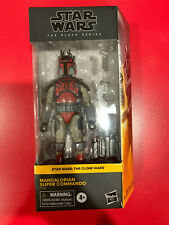 Star Wars Black Series Mandalorian Super Commando 6? Walmart Exclusive In Hand