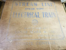 Stream Line Steam Type Electrical Train Remote Louis Marx Toy Set
